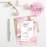Papiernictvo - svadobné oznámenie 140 - 11271079_