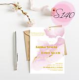 Papiernictvo - svadobné oznámenie 141 - 11271098_