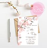 Papiernictvo - svadobné oznámenie 153 - 11271327_