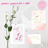 Papiernictvo - svadobné oznámenie 155 - 11271393_