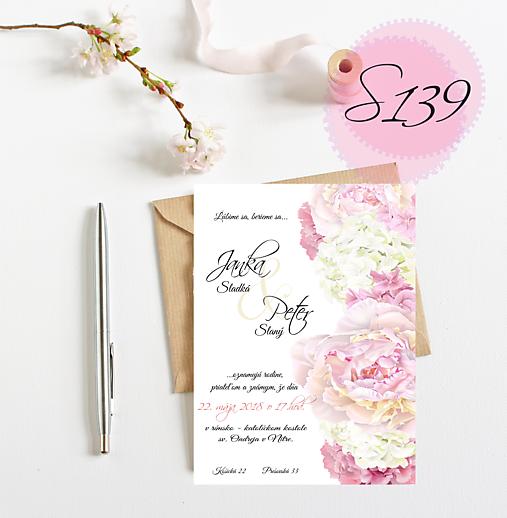 svadobné oznámenie 139