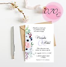 Papiernictvo - Svadobné oznámenie S98 - 11269092_