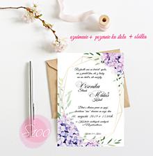 Papiernictvo - Svadobné oznámenie S100 - 11269108_