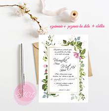 Papiernictvo - Svadobné oznámenie S101 - 11269132_