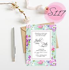 Papiernictvo - svadobné oznámenie 117 - 11270361_