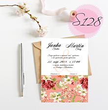 Papiernictvo - svadobné oznámenie S128 - 11270582_