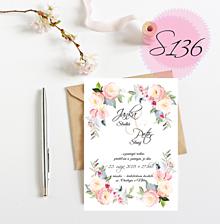 Papiernictvo - svadobné oznámenie 136 - 11270970_