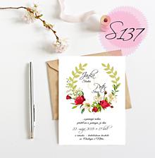 Papiernictvo - svadobné oznámenie 137 - 11270999_