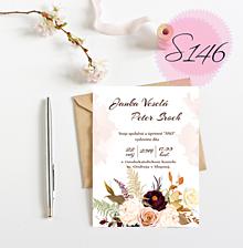 Papiernictvo - svadobné oznámenie 146 - 11271212_