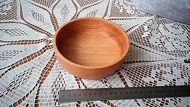 Nádoby - Miska z dreva (Čerešna) - 11269817_