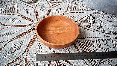 Nádoby - Miska z dreva (Čerešňa) - 11269839_