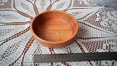 Nádoby - Miska z dreva (Čerešňa) - 11269875_