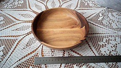 Nádoby - Miska z dreva (Orech) - 11270023_