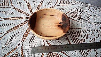 Nádoby - Miska z dreva (Orech) - 11270091_