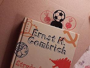 Papiernictvo - Záložka do knihy - futbalista (Strieborná) - 11268405_