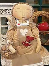 Dekorácie - Snívajúca anjelka Eli - 11268437_