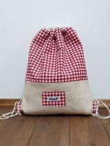 Batohy - Zaťahovací ruksak Hemp - 11269454_