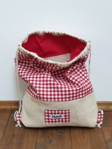 Batohy - Zaťahovací ruksak Hemp - 11269455_