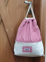 Batohy - Zaťahovací ruksak Hemp - 11269460_