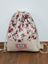 Batohy - Zaťahovací ruksak Hemp - 11269474_