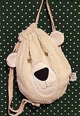 Batohy - Detský zaťahovací ruksak Bear - 11269576_