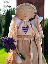 Dekorácie - Snívajúca anjelka Provence - 11270537_
