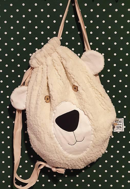 Detský zaťahovací ruksak Bear