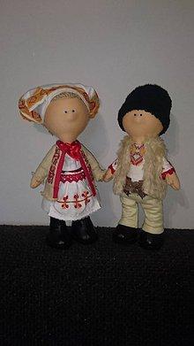 Nezaradené - Folklórne bábiky - 11270269_