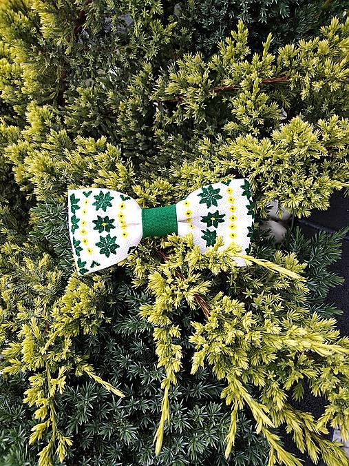 Zelený motýlik
