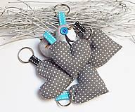 Drobnosti - Prívesky na kľúče - tučniaky - 11268375_