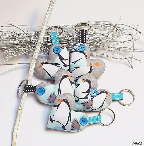 Prívesky na kľúče - tučniaky