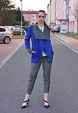 Kabáty - Blue and Gray - ZĽAVA - 11271567_