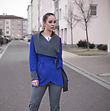 Kabáty - Blue and Gray - ZĽAVA - 11271568_