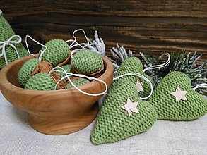 Dekorácie - Zelené vianoce - 11271603_