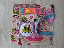 Hračky - Quiet book 55. - 11270828_