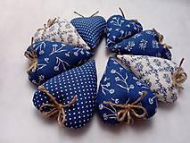 Darčeky pre svadobčanov - Levanduľové srdiečká - 11269586_