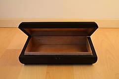 Krabičky - Maľovaná drevená krabička s mandalou - 11272548_