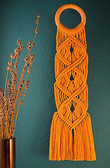Dekorácie - Makramé nástenná dekorácia - 11272100_
