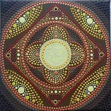 Obrázky - Mandala 20x20cm (Osobná mandala (predaná)) - 11273001_