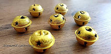 Galantéria - Rolnička 20 mm - Zlatá - 11271818_