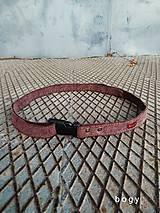 Opasky - manšestrový pásek na přezku max 140cm - 11272503_