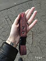 Opasky - manšestrový pásek na přezku max 140cm - 11272520_
