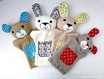 Hračky - Kamaráti z lesa - sada maňušiek na ruku - 11273367_