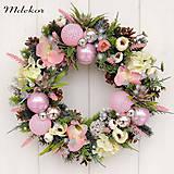 - Romantický vianočný veniec 40 cm - 11272492_