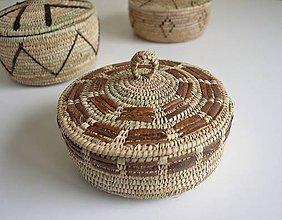 Iné šperky - RUSTIK Prútená šperkovnica - Vianočná zľava - 11274412_