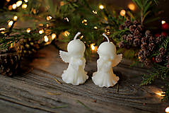 Svietidlá a sviečky - Vianočná krabička prekvapení- BIELA - 11274741_