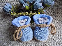 Topánočky - papučky pre bábätko ♥ - 11272574_