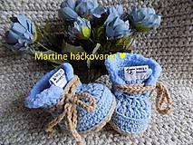 Topánočky - papučky pre bábätko ♥ - 11272575_
