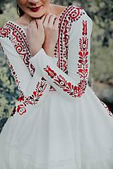 Šaty - ivory madeirové dlhé šaty  Poľana - 11272171_