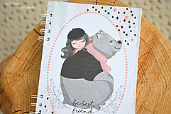 Zápisník pre dievčatko